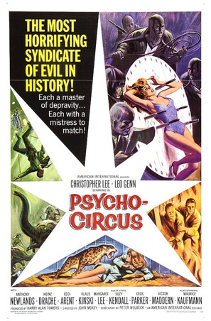 Circus of Fear - Movie Poster (thumbnail)