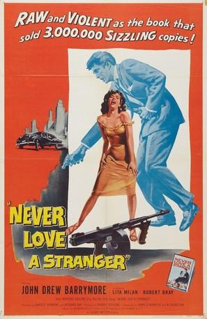 Never Love a Stranger - Movie Poster (thumbnail)