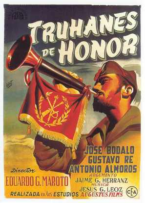 Truhanes de honor - Spanish Movie Poster (thumbnail)