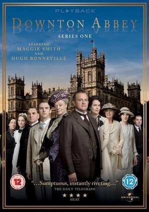 """Downton Abbey"" - British DVD movie cover (thumbnail)"