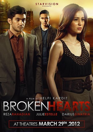 Brokenhearts - Indonesian Movie Poster (thumbnail)