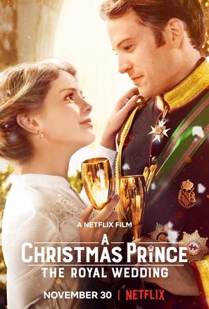 A Christmas Prince: The Royal Wedding - Movie Poster (thumbnail)