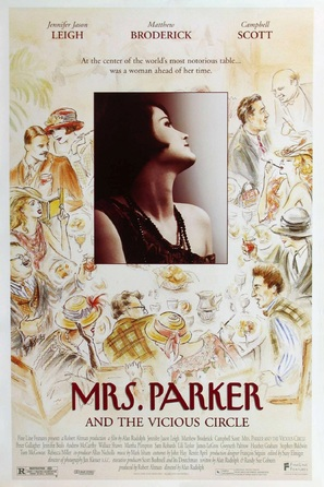 Mrs. Parker and the Vicious Circle - Movie Poster (thumbnail)