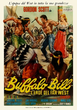 Buffalo Bill, l'eroe del far west - Italian Movie Poster (thumbnail)