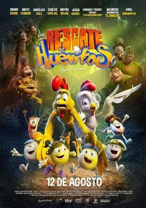 Un rescate de huevitos - Mexican Movie Poster (thumbnail)