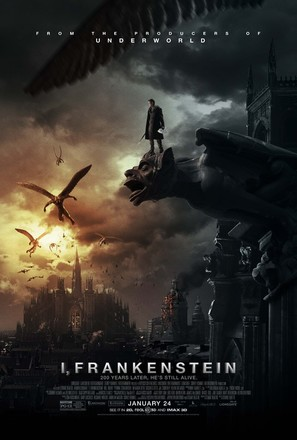 I, Frankenstein - Movie Poster (thumbnail)