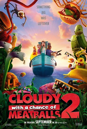 Cloudy with a Chance of Meatballs 2 - Movie Poster (thumbnail)