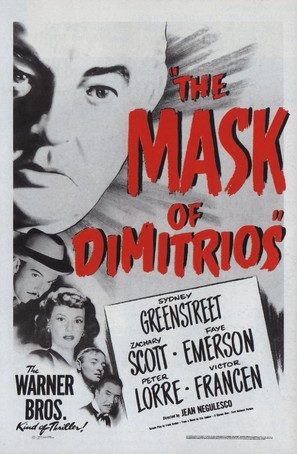 The Mask of Dimitrios - Movie Poster (thumbnail)