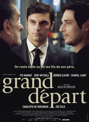Le grand départ - French Movie Poster (thumbnail)