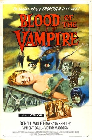 Blood of the Vampire - Movie Poster (thumbnail)