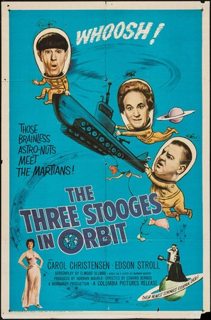 The Three Stooges in Orbit - Movie Poster (thumbnail)