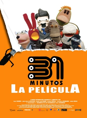 31 minutos, la película - Mexican Movie Poster (thumbnail)