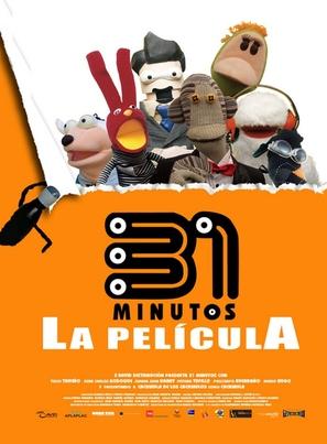 31 minutos, la película - Mexican Movie Poster (thumbnail)