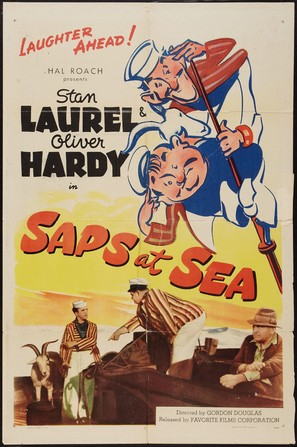 Saps at Sea - Movie Poster (thumbnail)