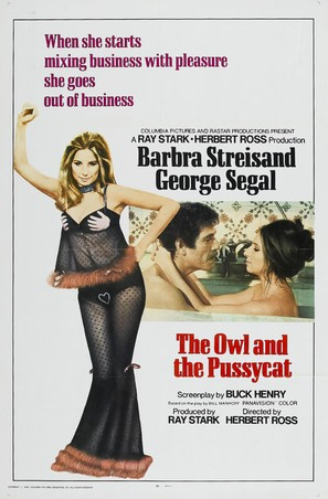The Owl and the Pussycat - Theatrical movie poster (thumbnail)