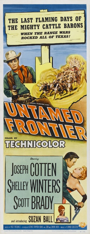 Untamed Frontier - Movie Poster (thumbnail)