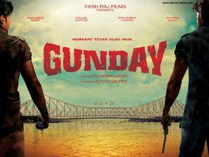 Gunday - Indian Movie Poster (thumbnail)