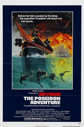 Beyond the Poseidon Adventure - Movie Poster (thumbnail)