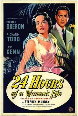 24 Hours of a Woman's Life - Movie Poster (thumbnail)