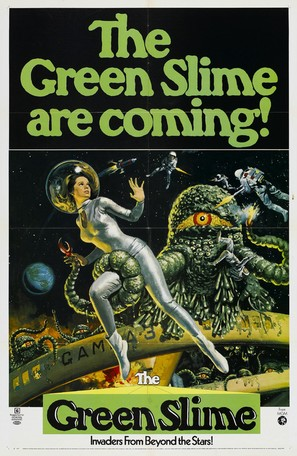 The Green Slime - Movie Poster (thumbnail)