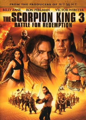 The Scorpion King 3: Battle for Redemption - Movie Cover (thumbnail)