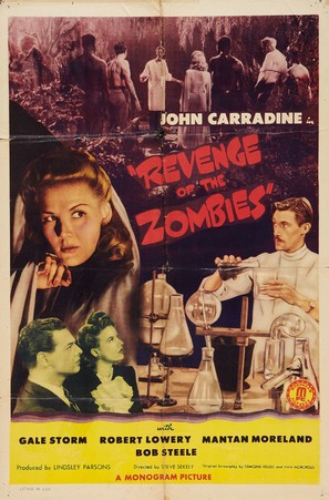 Revenge of the Zombies - Movie Poster (thumbnail)