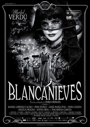 Blancanieves - Spanish Movie Poster (thumbnail)