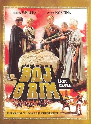 Kampf um Rom II - Der Verrat - Czech DVD movie cover (thumbnail)