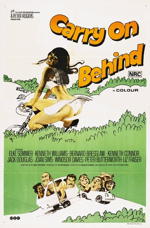 Carry on Behind - Australian Theatrical poster (thumbnail)