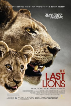 The Last Lions - Movie Poster (thumbnail)