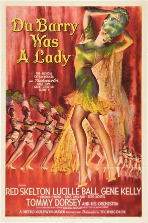 Du Barry Was a Lady - Movie Poster (thumbnail)