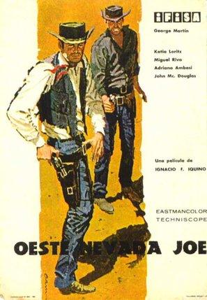 Oeste Nevada Joe - Spanish Movie Poster (thumbnail)