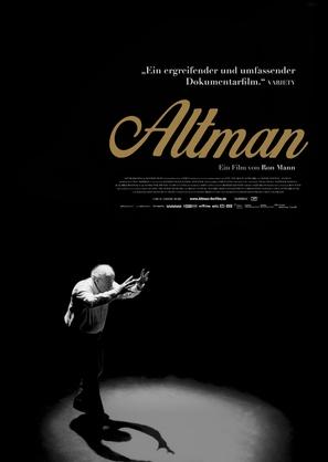 Altman - German Movie Poster (thumbnail)
