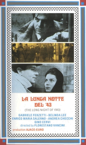 Lunga notte del '43, La - Italian VHS cover (thumbnail)