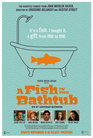 A Fish in the Bathtub - Re-release movie poster (thumbnail)