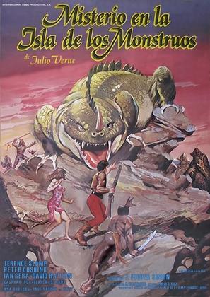 Misterio en la isla de los monstruos - Spanish Movie Poster (thumbnail)