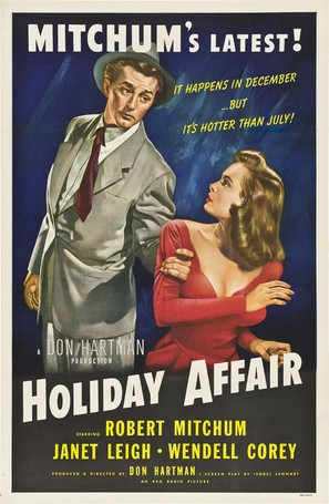 Holiday Affair - Movie Poster (thumbnail)