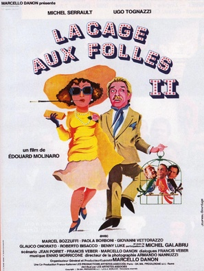 La cage aux folles II - French Movie Poster (thumbnail)