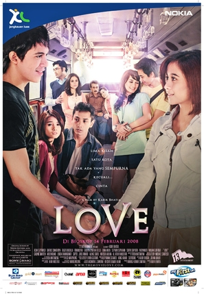 Love - Indonesian Movie Poster (thumbnail)