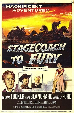 Stagecoach to Fury - Movie Poster (thumbnail)