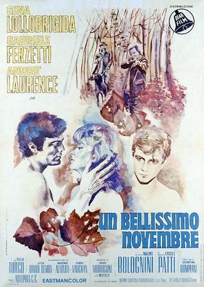 Un bellissimo novembre - Italian Movie Poster (thumbnail)