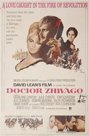 Doctor Zhivago - Movie Poster (thumbnail)