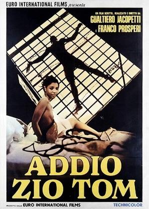Addio zio Tom - Italian Movie Poster (thumbnail)