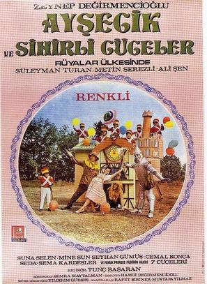 Aysecik ve sihirli cüceler rüyalar ülkesinde - Turkish Movie Poster (thumbnail)
