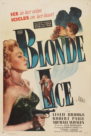 Blonde Ice - Movie Poster (thumbnail)