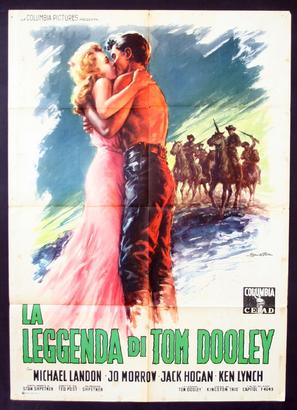 The Legend of Tom Dooley - Italian Movie Poster (thumbnail)