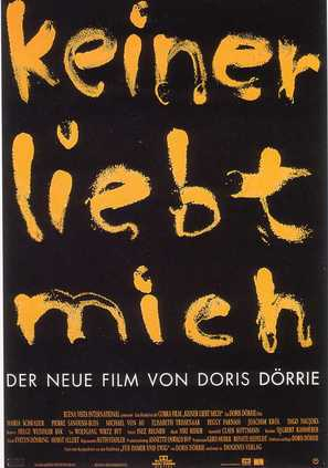 Keiner liebt mich - German Movie Poster (thumbnail)