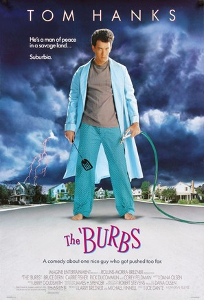 The 'Burbs - Movie Poster (thumbnail)