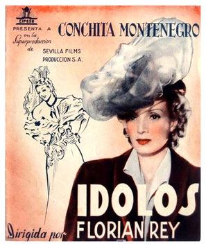 Ídolos - Spanish Movie Poster (thumbnail)