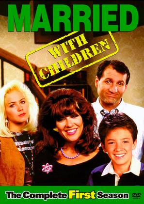 """""""Married with Children"""" - DVD movie cover (thumbnail)"""